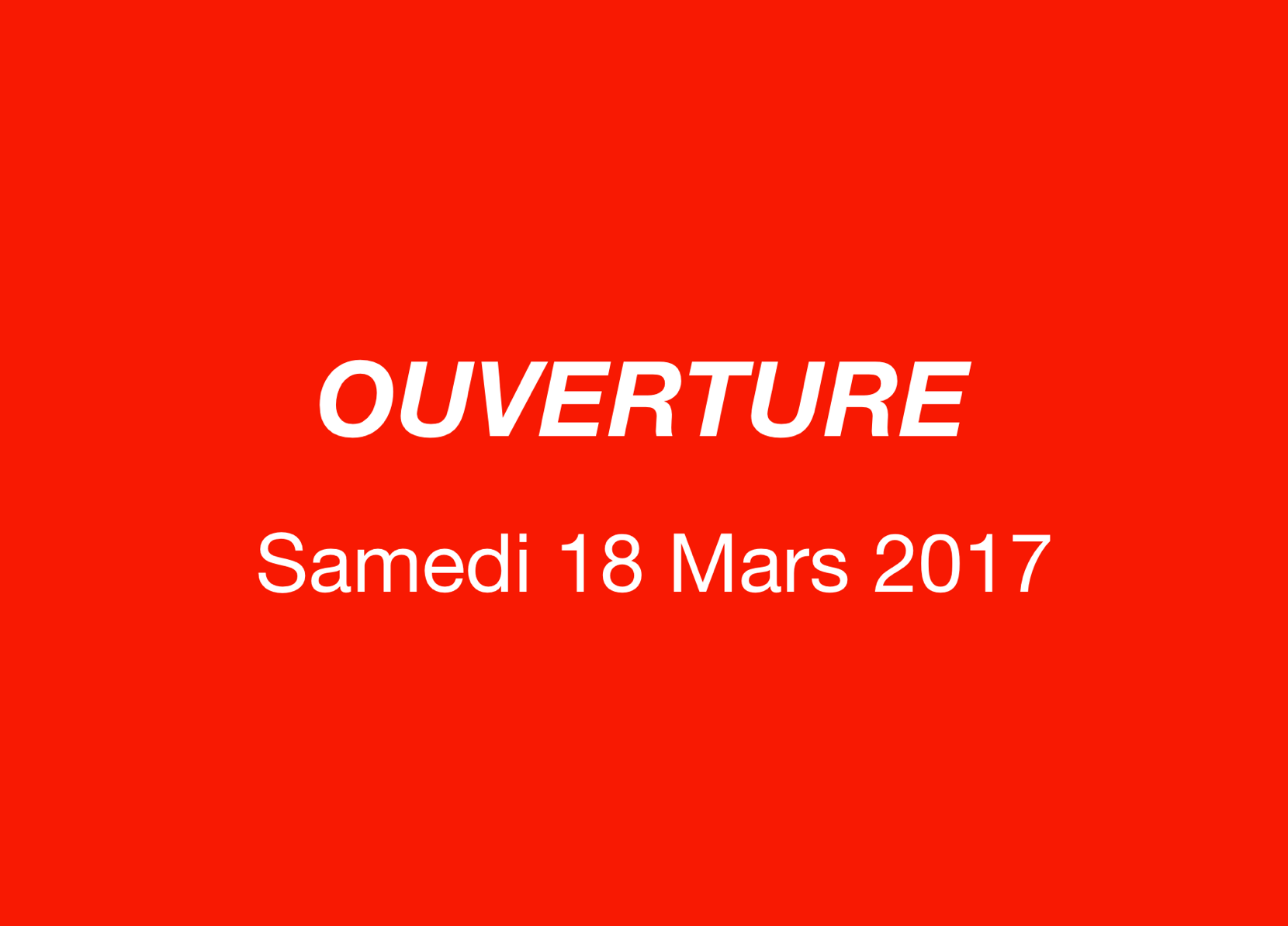 Ouverture Officielle post thumbnail